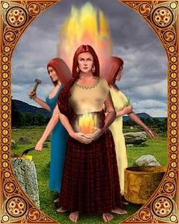 brighid goddess, göttin